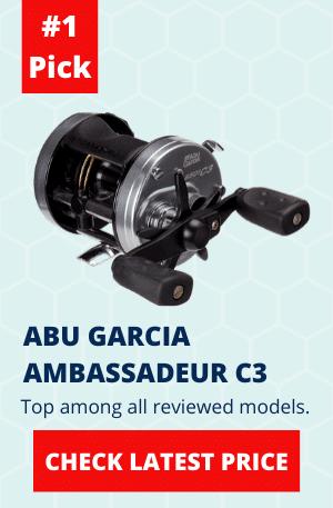 ABU GARCIA AMBASSADEUR C3 ROUND REEL