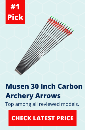 Musen 30 Inch Carbon Archery