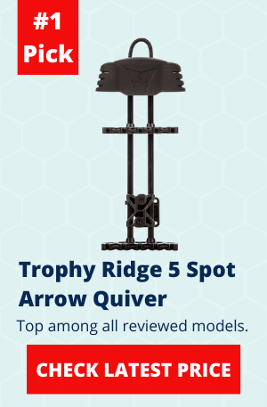 Trophy Ridge 5 Spot Arrow Quiver